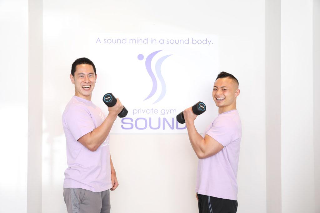 SOUNDのトレーナーたち